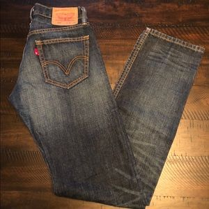 MENS 514 Slim Straight Levi's Size 30 x 34